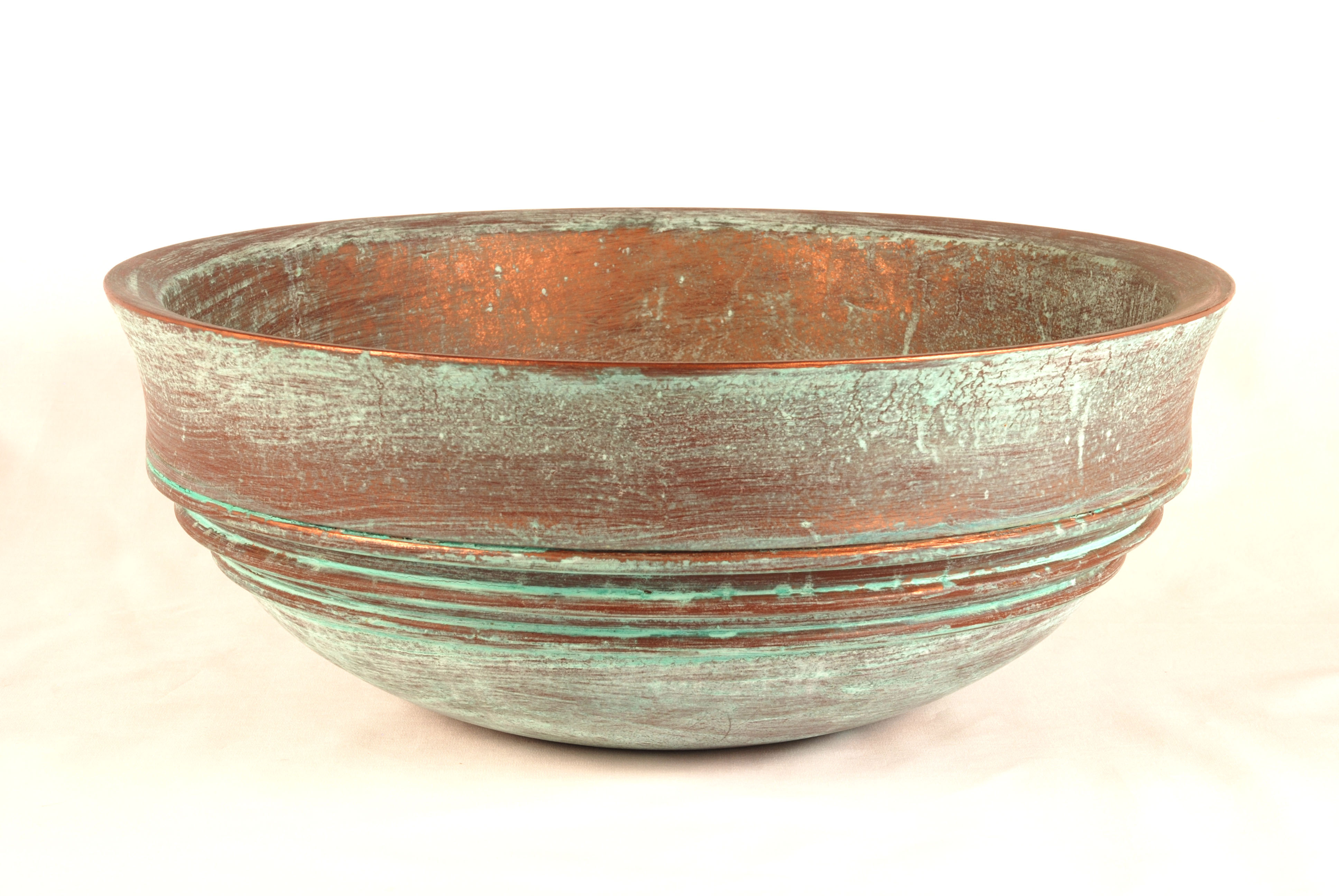 how to clean oxidized copper