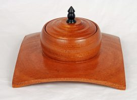 Mahogany Winged Box
