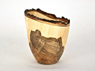 Maple Burl Vase
