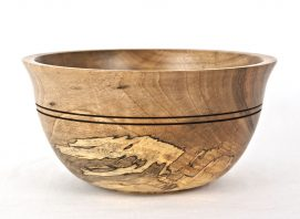 Spalted English Walunt Bowl