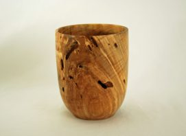 Custom Maple Vase